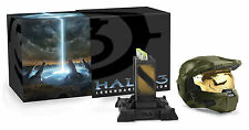 BRAND NEW FACTORY SEALED HALO 3 LEGENDARY EDITION (INC MC HELMET) FOR XBOX 360