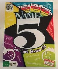 Name 5 By Endless Games 2009 Edition 100% Complete - Free Shipping!!