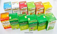 Twinings Infusions Fruit Herbal and Green Tea bags Variety Pack 12 box Flavours
