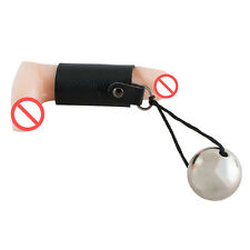 MALE Max PRO HANGER Leather PenisEnlarger Extender Stretcher With stainless Ball