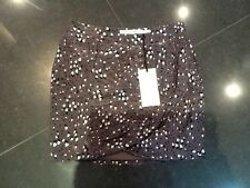 NWT Twenty8Twelve New & Genuine Ladies Brown Silk Tulip Skirt Size 10 (UK)