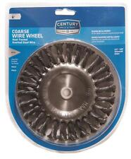 """Century Drill and Tool 6"""" Knotted Bench Grinder Wire Wheel 76865"""