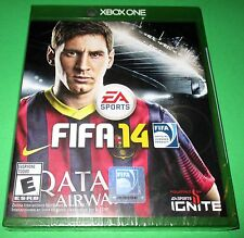 FIFA 14 Microsoft Xbox One *Factory Sealed! *Free Shipping!
