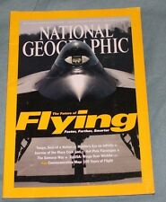 National Geographic - The Future of Flying - December 2003 Volume 204 No. 6