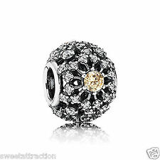 New Authentic Pandora Charm 791370CCZ Inner Radiance  Box Included
