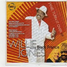(FL350) Willie Jones ft  Black Francis, Janie Turn It Over EP - 2014 DJ CD