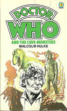 Paperback Book - DOCTOR WHO and The Cave-Monsters - Malcolm Hulke