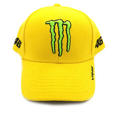 Valentino Rossi VR46 Monster Energy Sponsors Baseball Cap Official 2016
