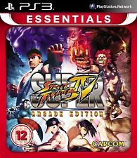 Super Street Fighter IV Arcade Edition para PAL PS3 (nuevo Y Sellado)