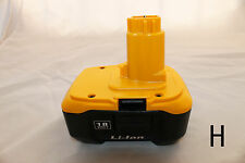 1 new unbranded rechargeable lithium ion li-ion battery for Dewalt DC9180 18V 3A
