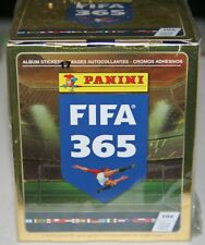 2016 Panini FIFA 365 Soccer Factory Sealed Sticker Box 50 Packs 350 Stickers