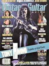 Vintage Guitar Magazine January 2006 Steven Seagal, Cream, Jimi Hendrix, Pixies