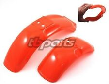 "HONDA Z50R FRONT REAR RED FENDER SET ""FLEXIBLE"" NICE 1979 - 1987 79-87 Z50"
