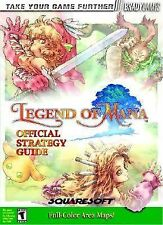 Legend of Mana Official Strategy Guide by BradyGames Staff (2000, Paperback)
