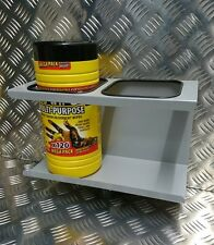 Big Wipes Holder. Towel Holder. Van Racking Motocross Cleaning. Mountain Bike.