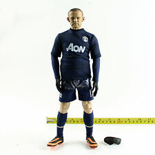 W01-19 1/6th Scale ZCWO Manchester United kit away NO.10 Rooney body w/ uniform