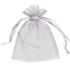 50 Organza Bags Wedding Favour Pouches Jewellery Mesh Party Drawstring Gift Pack