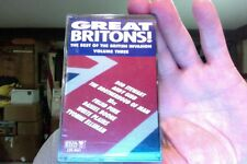 Great Britons!- Best of the British Invasion Vol. Three- new/sealed cassette