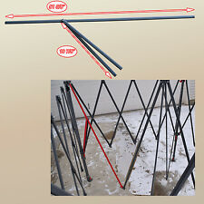 "Coleman 12 'x 12' Canopy Gazebo 51.5"" PEAK TRUSS Bar W/Support Replacement Parts"