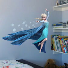 Removable Frozen Elsa Wall Sticker Decal Mural Art Hoom DIY Decor Kids Xmas Gift