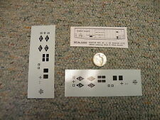 S DeSignS decals S Gauge Lehigh Valley diamonds black white boxcars 2 sheet  N92