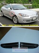 2007-2008 HYUNDAI TIBURON / COUPE FL2 FENDER GARNISH INSERT 1SET GENUINE PARTS