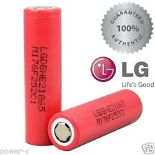 2x LG HE2 2500mAh 20A| Authentic Original Rechargeable 18650 Battery LGDBHE21865