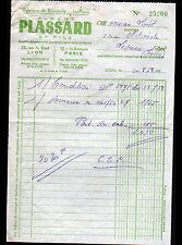 """LYON (69) USINE de BIJOUX / BIJOUTERIE & JOAILLERIE """"PLASSARD & Fils"""" en 1958"""