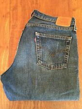LEVI'S Made inUSA Hesher Lowrise Straight Leg Jean W34 L31 (see Measurements)