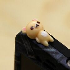 Rilakkuma cup bear Jack Anti Dust Earphone Cap Plug Stopper For all cellphone