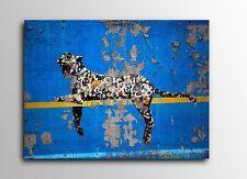 ACEO Banksy Yankee Tiger Graffiti Street Art Canvas Giclee Print
