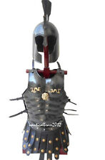 COPPER FINISH MUSCLE ARMOR JACKET MEDIEVAL ROMAN CUIRASS HALLOWEEN COSTUME