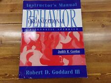 Instructor's Manual Behavior Organizational Diagnostic Approach Textbook 7th Ed