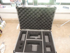 "Aluminum Attache Professional Camera Case with foam strap and keys 18"" x 13"""