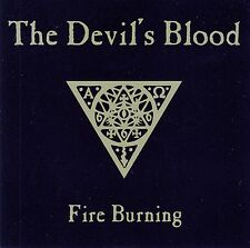 THE DEVIL'S BLOOD : FIRE BURNING / 6 TRACK-CD - NEUWERTIG