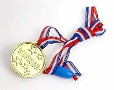 12 x Childrens Sports Day Race Gold Winners Medals Prizes Awards Toys T02 700