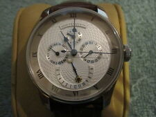 Azimuth Round One Calendrier Complication w/ Complete Box & Paper- Mint
