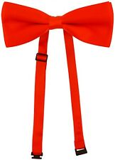 Adult Mens Ladies Unisex Halloween Red Bowtie Bow Tie Saw Puppet Tie New H
