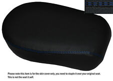 BLUE DS ST CUSTOM FITS YAMAHA XVS 650 CLASSIC V STAR LEATHER REAR SEAT COVER