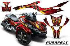 CAN-AM BRP SPYDER GRAPHICS KIT CREATORX DECALS STICKERS PURR