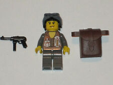 Lego Minifig WW2 Wehrmacht Corp Paratrooper with weapon