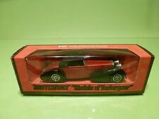 MATCHBOX YESTERYEAR Y-17 HISPANO SUIZA 1938 - RED - EXCELLENT IN  BOX