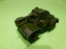 DINKY TOYS 670 ARMOURED CAR - MILITARY TANK - GOOD CONDITION - ARMY GREEN