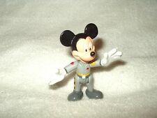 Disney Action Figure Mickey Mouse as Ground Controller approx 3 inch loose