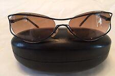 CHANEL Vintage Women's Black Unique Sunglasses