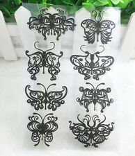 Hot Butterfly Silicone Rubber Clear Stamp Seal Scrapbooking Diary Christmas Card