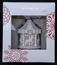 WEDGWOOD JASPER WARE BABYS FIRST CHRISTMAS CAROUSEL ORNAMENT TREE BAUBLE