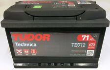 TB712 - BATTERIA AUTO TUDOR EVOLUTION TECHNICA 71 AH 670 A