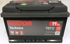 TB712 - BATTERIA AUTO TUDOR EVOLUTION TECHNICA 71 AH 670 A