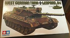 TAMIYA 35112 - 1/35 WEST GERMAN TANK LEOPARD A4 - NUOVO